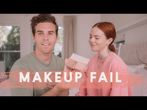 Husband Does My Makeup!!! thumbnail
