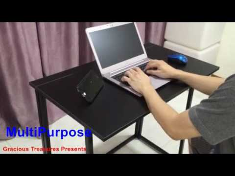 Folding Computer Table Folding Study Table YouTube