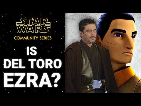 Is Benicio del Toro Ezra?