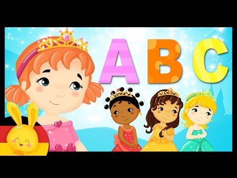 Das deutsche AlphabetLied  German Alphabet Song  ABC Lied   Kinderlieder deutsch   Titounis