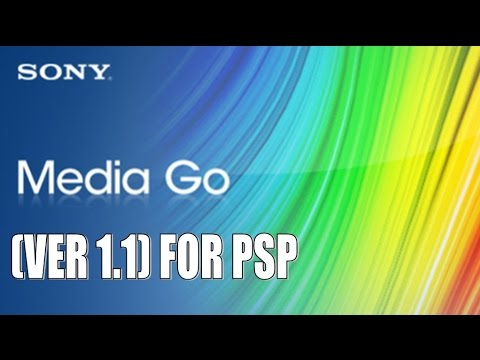 Frist Look At Sony's Media Go (Ver 1.1) For PSP