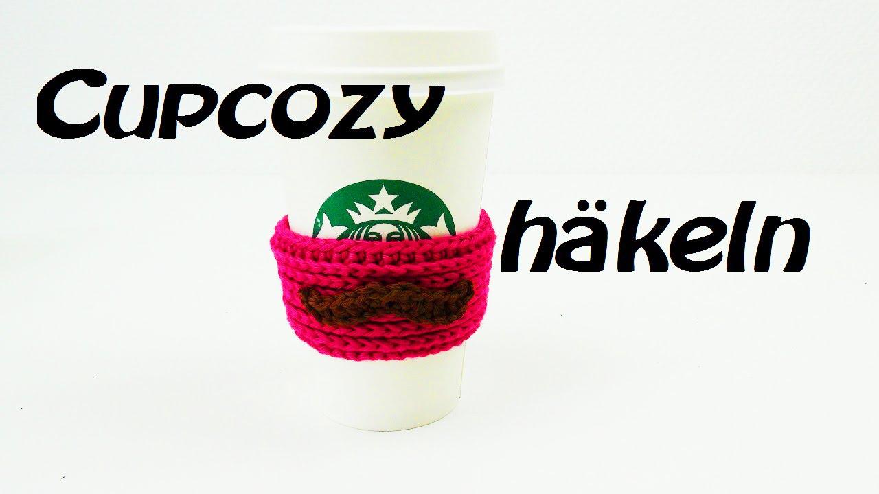 Cup cozy HÄKELN - perfekt für jeden Becher - sehr vielfältig ...