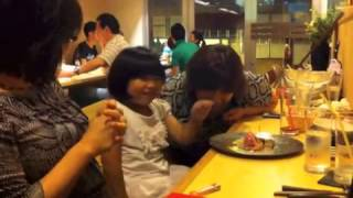 Jun20,2014 母、妹、私、従妹、従妹の子の5人で外食。最近、このメンバ...