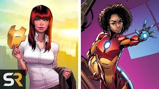 25 Characters Who Have Worn Iron Man's Armor