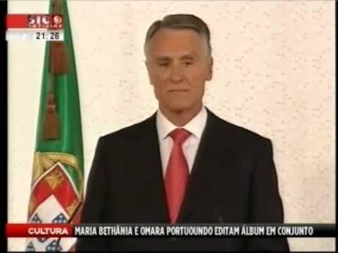 Cavaco Silva diz boa noite