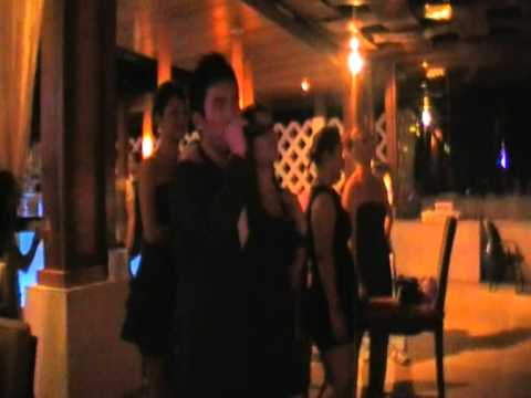 club med cherating 2011 karaoke wilson and carmen