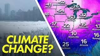 Is the polar vortex caused by climate change?