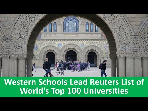 Learn English with VOA News - Western Schools Lead Reuters List of World's Top 100