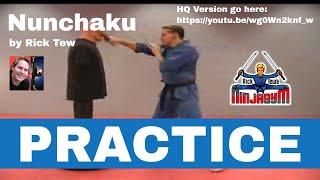 Rick Tew Nunchaku Practice Part 2