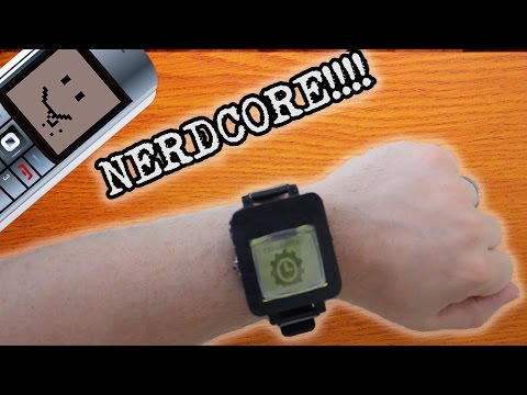 Make A Smartwatch From An Old Cell Phone (Part 3)
