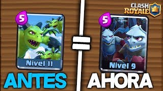 8 CAMBIOS en las CARTAS que NO CONOCIAS - Clash Royale thumbnail