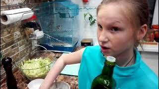 Салат с ролтон
