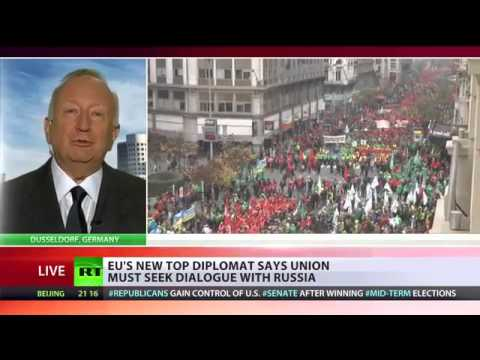 BBC Silent - EU's anti-Russian sanctions benefits the US ONLY