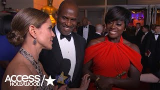 Viola Davis Reacts To Winning Her First Oscar | Access Hollywood