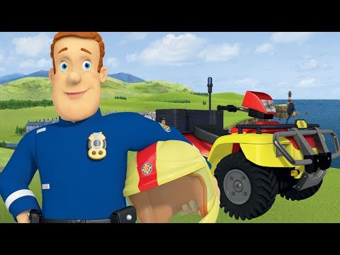 Download Youtube: Fireman Sam New Episodes | When Fools Rush in - Rescues Marathon 🚒 🔥 | Cartoons for Children