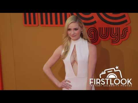 Greer Grammer at The Nice Guys Los Angeles premiere