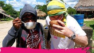 Surinamese REMOTE VILLAGE TOUR & Trying Their JUNGLE BEER   Palumeu, Suriname