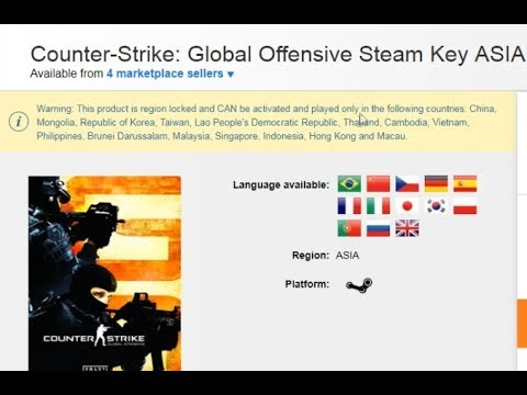 CSGO for 5$! (Free VPN Tutorial)