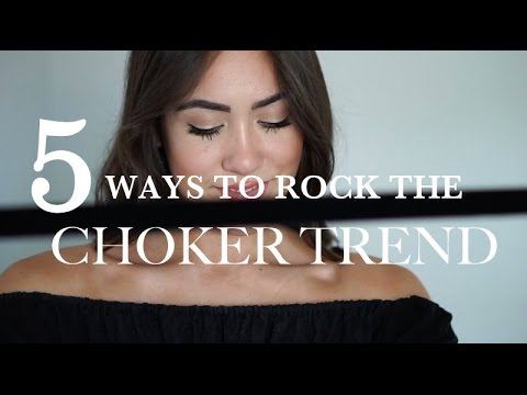 5 Ways To Rock The Choker Trend