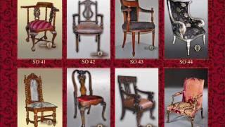 Мебель для бара ресторана бутика Alessandro Gridine Luxury Furniture