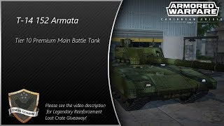 Armored Warfare - T-14 152 Armata Premium Main Battle Tank