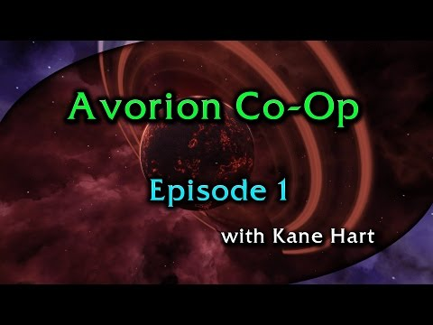 Avorion Co-Op - Part 1 - Mining Titanium and Building Our First Ship!