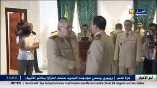 الفريق أحمد قايد صالح يشرف على حفل تقليد الرتب و الاوسمة للضباط السامين في الجيش الوطني