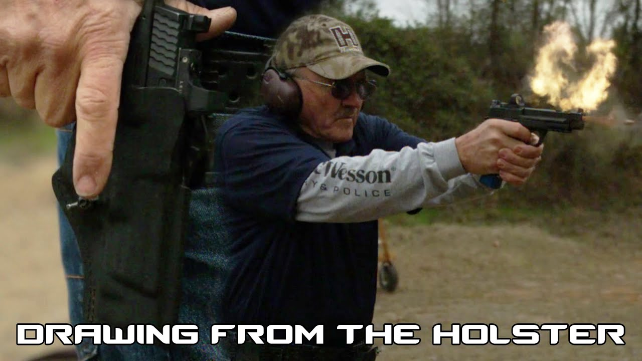 How to Draw from the Holster with Jerry Miculek