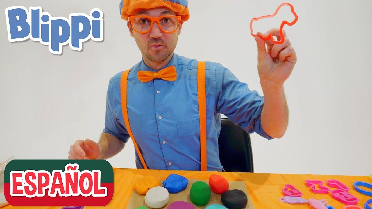 🟠Manualidades, Plastilina y Juegos para Niños con Blippi 🟠| Aprende con Blippi | Videos Educativos
