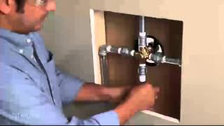 Installing A One-Handle Posi-Temp® Shower Valve: IPS to IPS