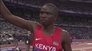 Rudisha, Aman & Kaki Win 800m Semi-Finals - London 2012 Olympics