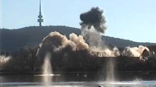 Canberra Hospital Implosion 1997