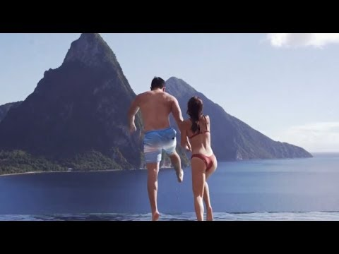 St. Lucia Cinematic Travel in one Minute