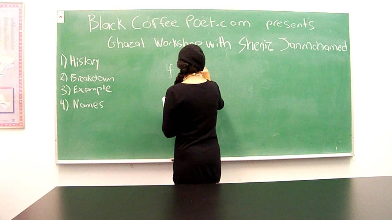 How To Write A Ghazal Poem
