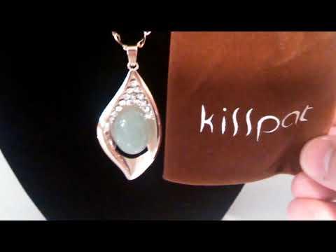 Kisspat Rhinestone Evil Eye Goldtone Pendant Necklace Review