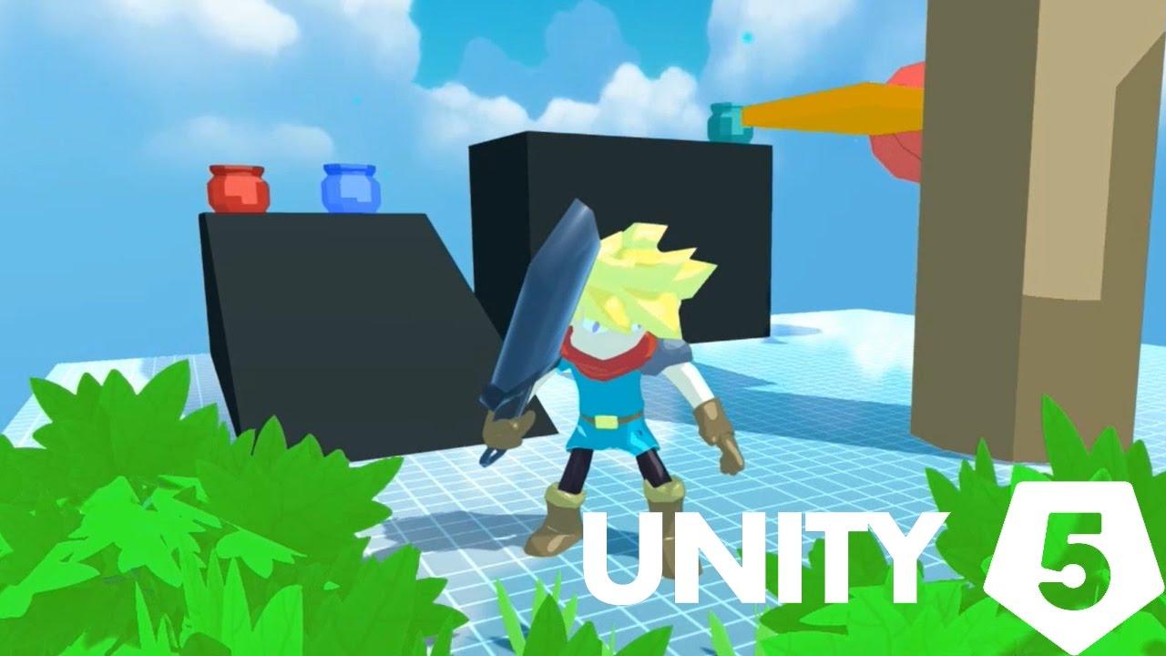 Unity 5 Character Controller - Zelda & Dark souls is a big inspiration