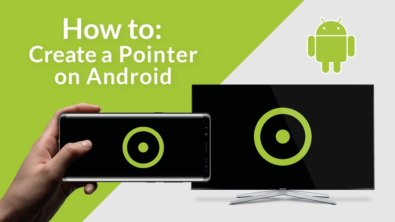 HOW TO: Use the Android Pointer