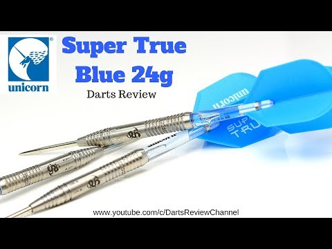 Unicorn Super True Blue 24g darts review