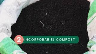 03 Conformación de camas e incorporación de compost
