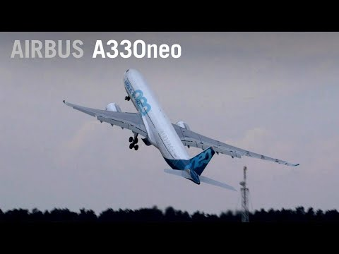 Airbus A330neo Flying Display Over Farnborough – AINtv Express