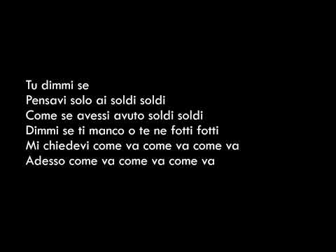Soldi - Mahmood - Lyrics(Testo)