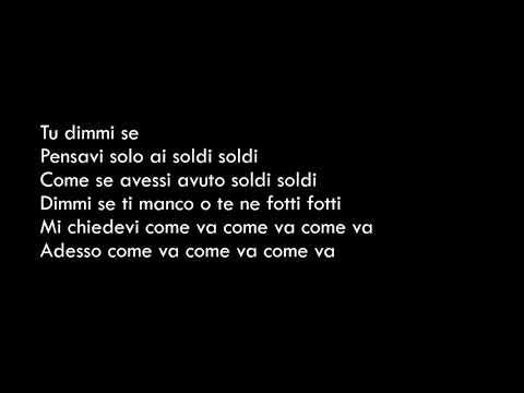 Soldi - Mahmood - Lyrics(Testo)