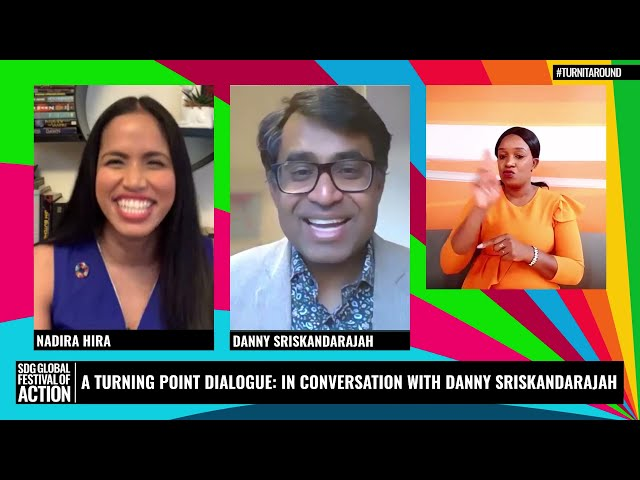 A Turning Point Dialogue: In Conversation with Danny Sriskandarajah