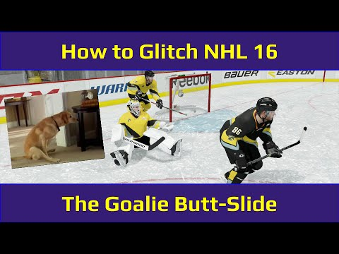 "NHL 16 Goalie ""Tip"" – How to do the Butt-Slide Glitch"
