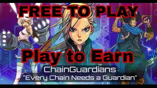 Chain Guardian New NFT Game Play To Earn/Free to Play 7/24/21 (Tagalog) screenshot 3