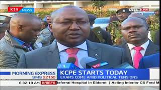 KCSE examinations distributed in Nyeri county