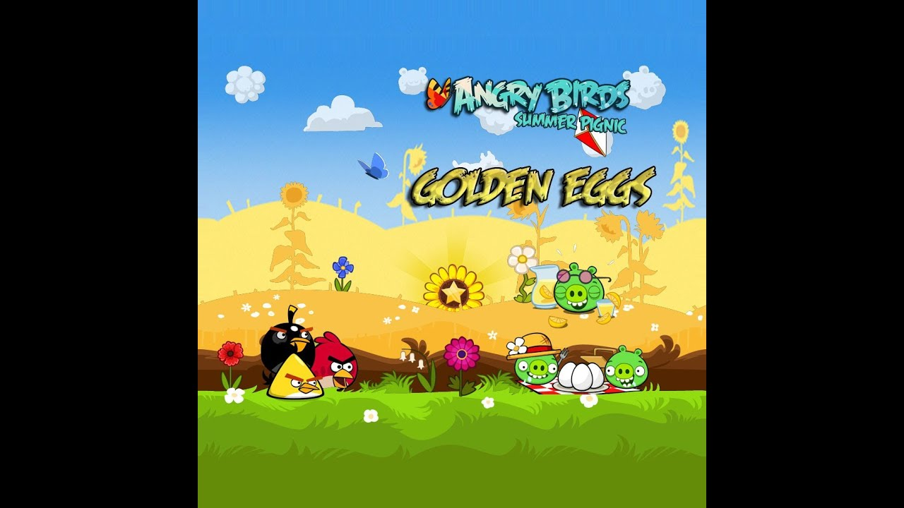 Angry Birds (Seasons, Rio) All Golden Eggs and Fruits ...