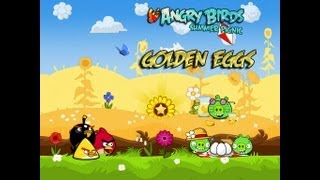 Angry Birds Seasons - Summer Pignic Golden Eggs Walkthrough