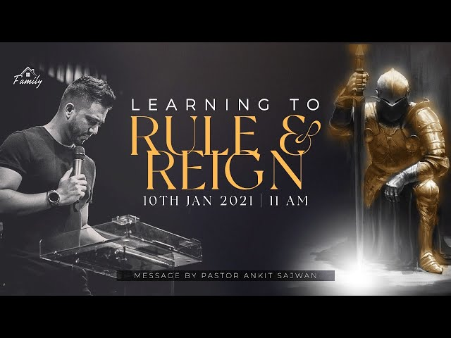 Learning to Rule and Reign | Ps. Ankit Sajwan | Folj Church