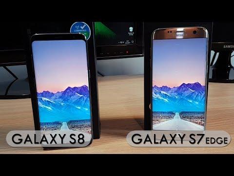 Galaxy S8 vs Galaxy S7 EDGE - Comparativa